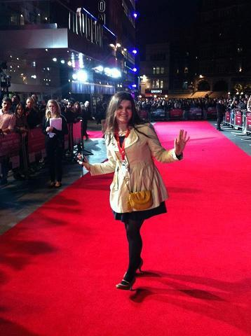 Producer, Maggie Gogler at the 56th BFI London Film Festival
