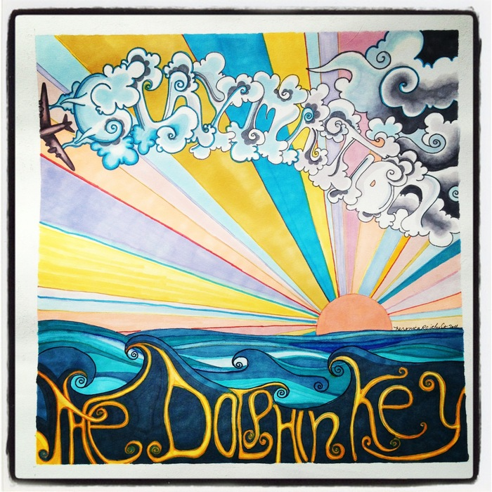 "The original album cover artwork for the first Claymation album ""The Dolphin Key"", by artist Veronica Reichelt [$400 pledge, signed by Baird & Veronica 1 available]"