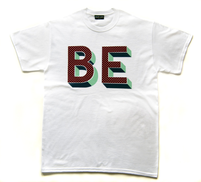 The 'BE' t-shirt