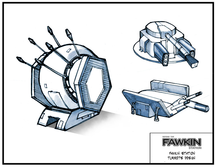Turret concepts.