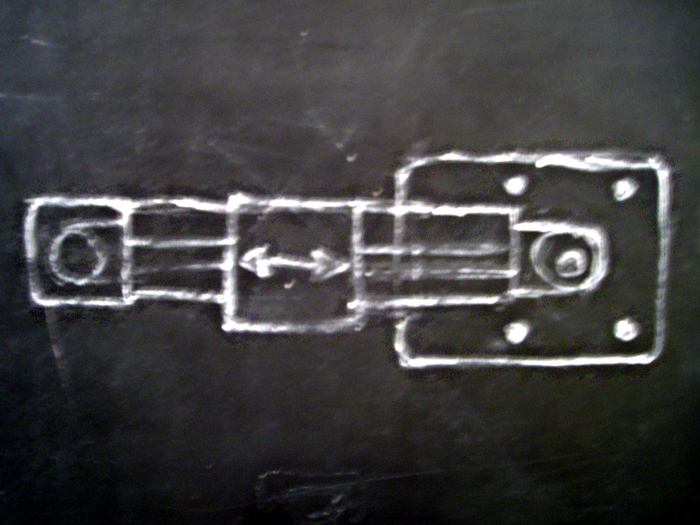Chalkboard concept drawing