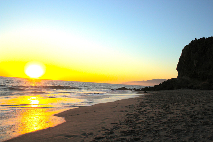 Malibu Beach Sunset