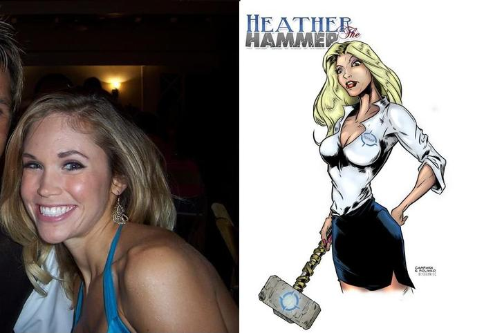 "Heather ""the Hammer"""