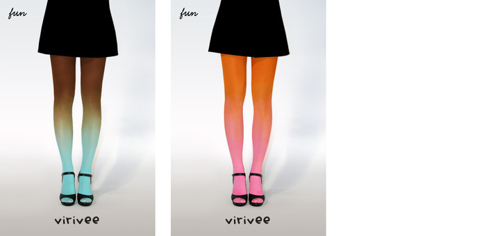 Virivee fun ombre tights