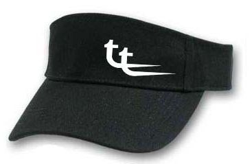 Visor black w white