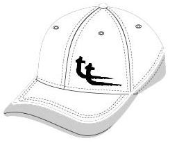 Baseball white w black