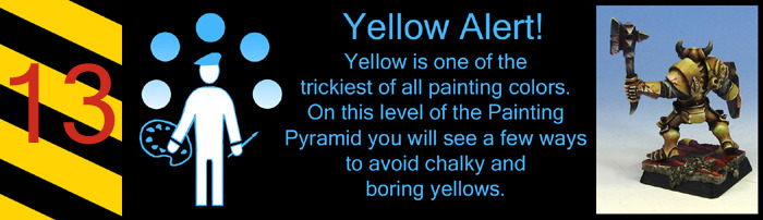 Look out!  How do you keep those yellows from getting chalky or brown?  This might help.