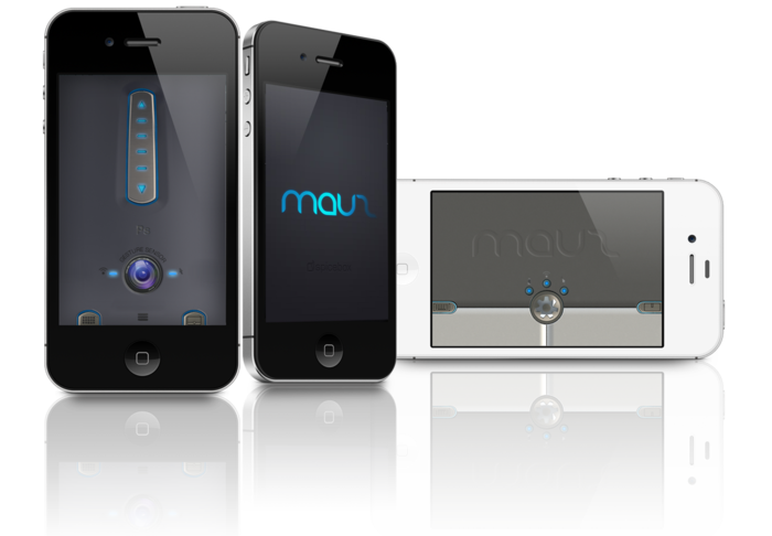 Mauz feature mouse & touchpad interface