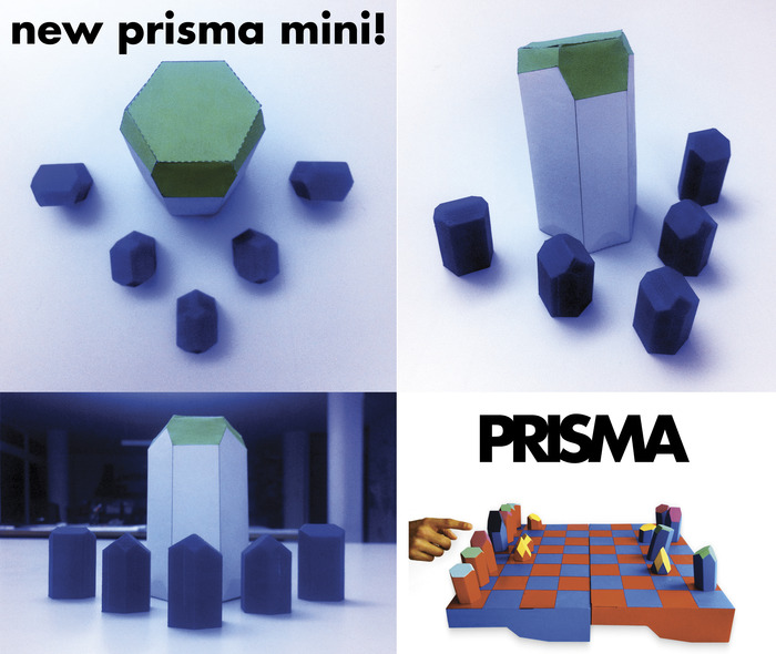 A traveling PRISMA set about 1/4 the size of the original.