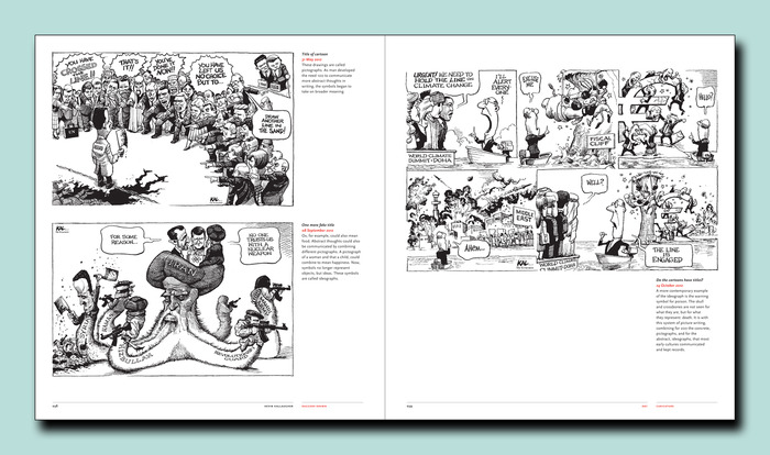With an 11 x 10 format we can include more artwork in the book