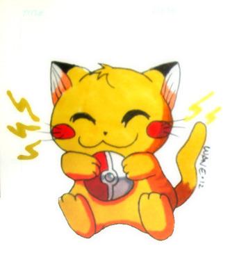 Pikacat, Pikachu(c) Nintendo