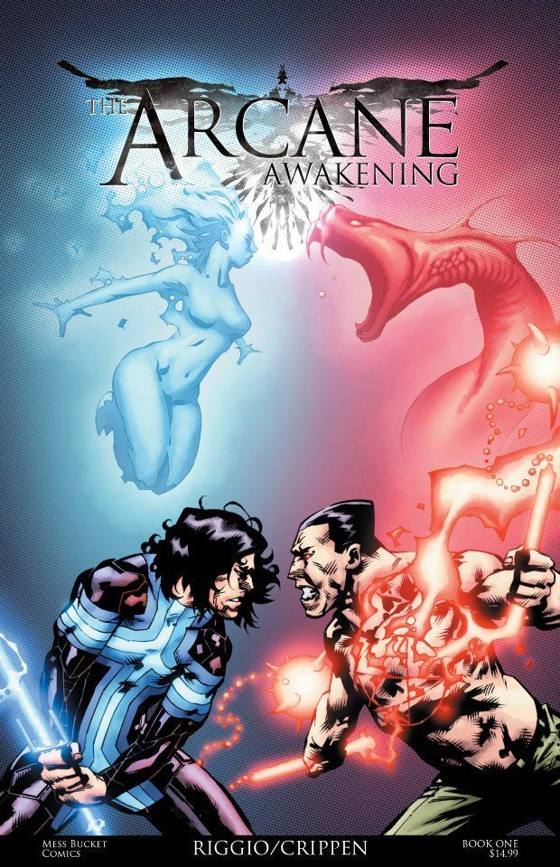 The Arcane Awakening book #1 cover