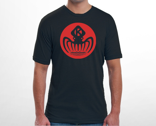 60s KRAKEN CORPORATION T-SHIRT
