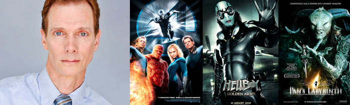 Doug Jones starred in FANTASTIC FOUR : RISE OF THE SILVER SURFER, HELLBOY and PAN'S LABYRINTH
