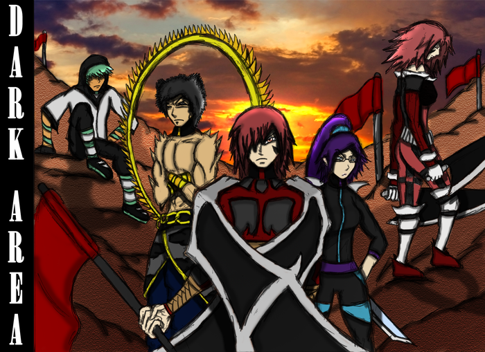The very first colored picture of Kaos and his generals