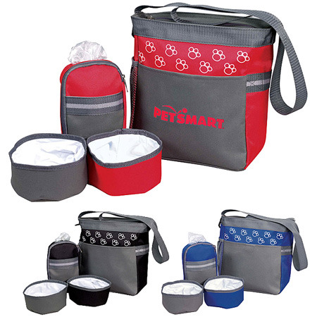 This is the pet accessory bag.  We will order the black one and put the Paul Friedrich logo on it.