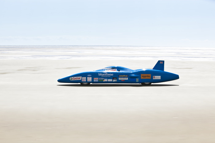 The Bluebird BE-3 electric land speed car broke eight national land speed records and won a Millennium Design Award.