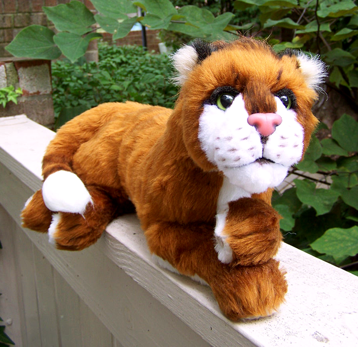 Another view of a custom designed Thakur plushie by Lashmit.