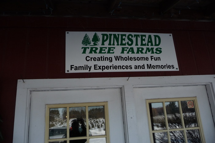 Very, very special thank you to Pinestead Tree Farms