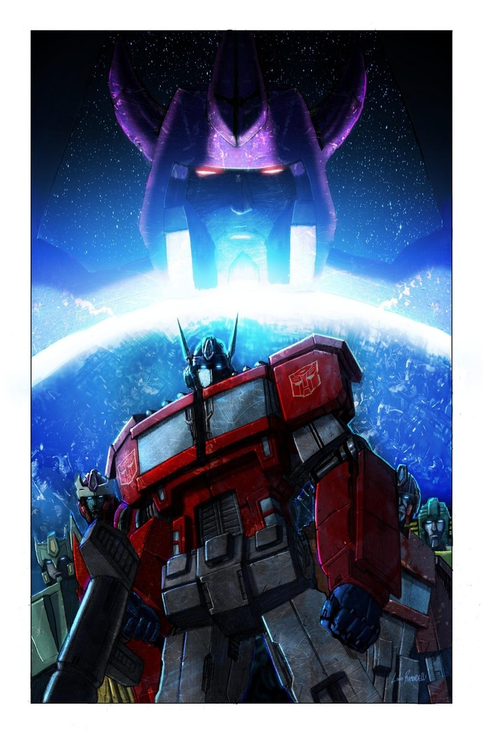 Transformers Cover Art by Livio Ramondelli