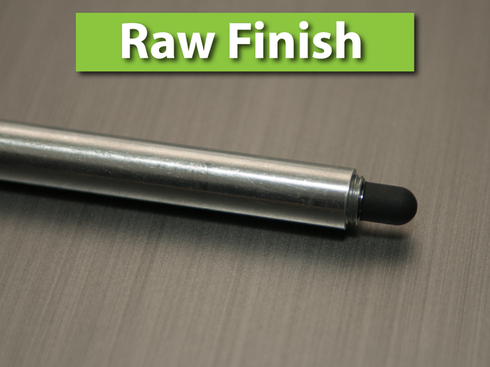 Raw Aluminum Finish