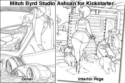 Exclusive Mitch Byrd Studio Ashcan