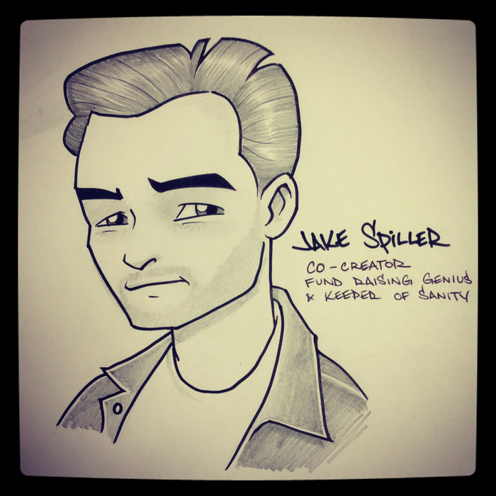 Jake Spiller - Co-creator, Fundraising genius & keeper of sanity