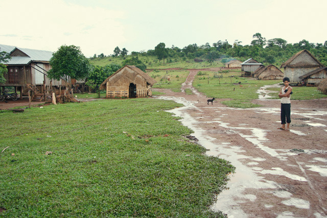 A Pnong village in the Mondulkiri Province