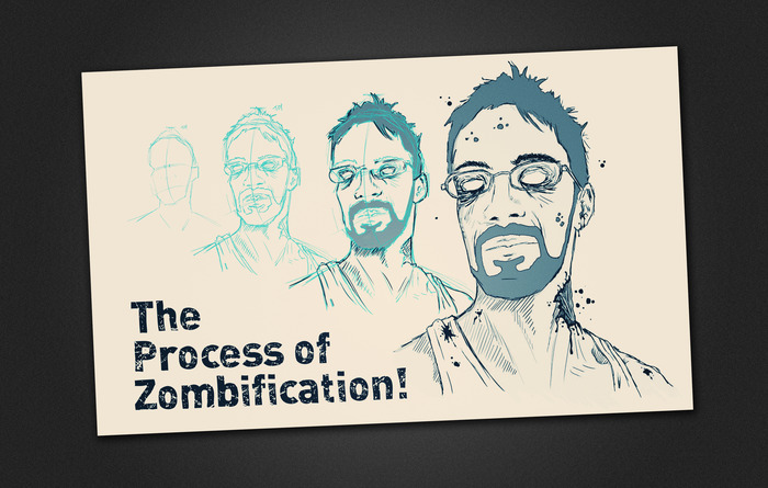 The Process of Zombification!