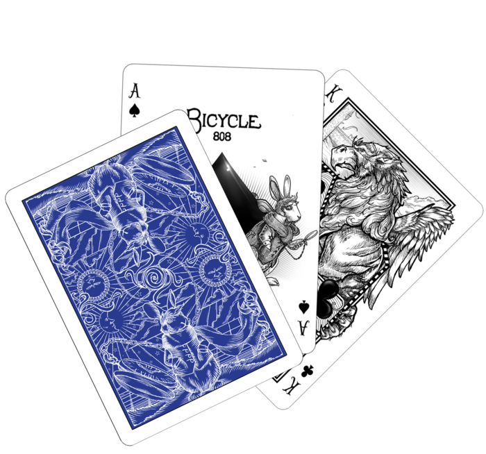 Bicycle-The-White-Rabbit-Playing-Cards-by-Albino-Dragon