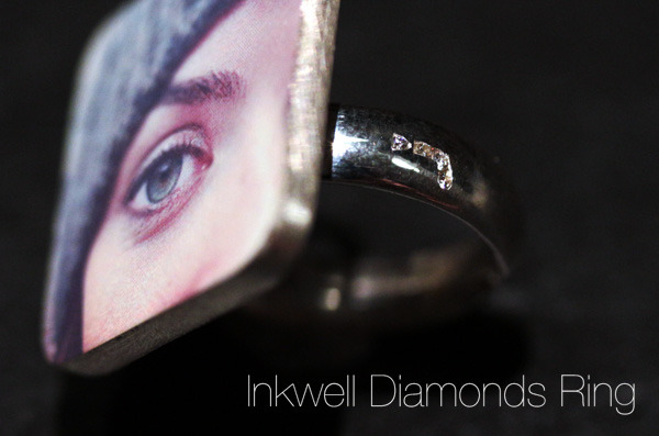 Inkwell Diamonds Ring
