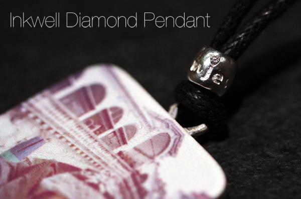 Inkwell Diamond Pendant