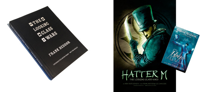 Rare, uncorrected advanced reader's edition of LGW in WHEEL OF FATE and poster and out-of-print hardcover signed by Ben Templesmith in A STEP BEYOND