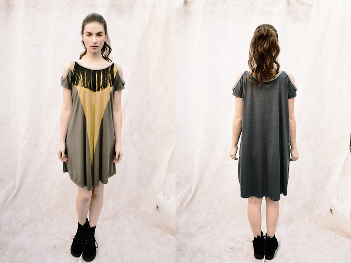 Sage {Cut-Out Dress} / $119.90 - Get it now for $100 + receive the EXCLUSIVE Wild+Free Necklace! Make a Pledge now!