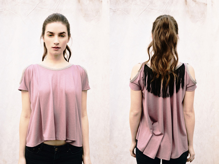 Clarkia {Cut-Out Top} / $84.90 - Get it now for $65 + receive the EXCLUSIVE Wild+Free Necklace! Make a Pledge now!