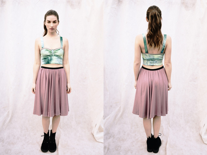 Rose {Midi Skirt} / $69.90 - Get it now for $50 + receive the EXCLUSIVE Wild+Free Necklace! Make a Pledge now!