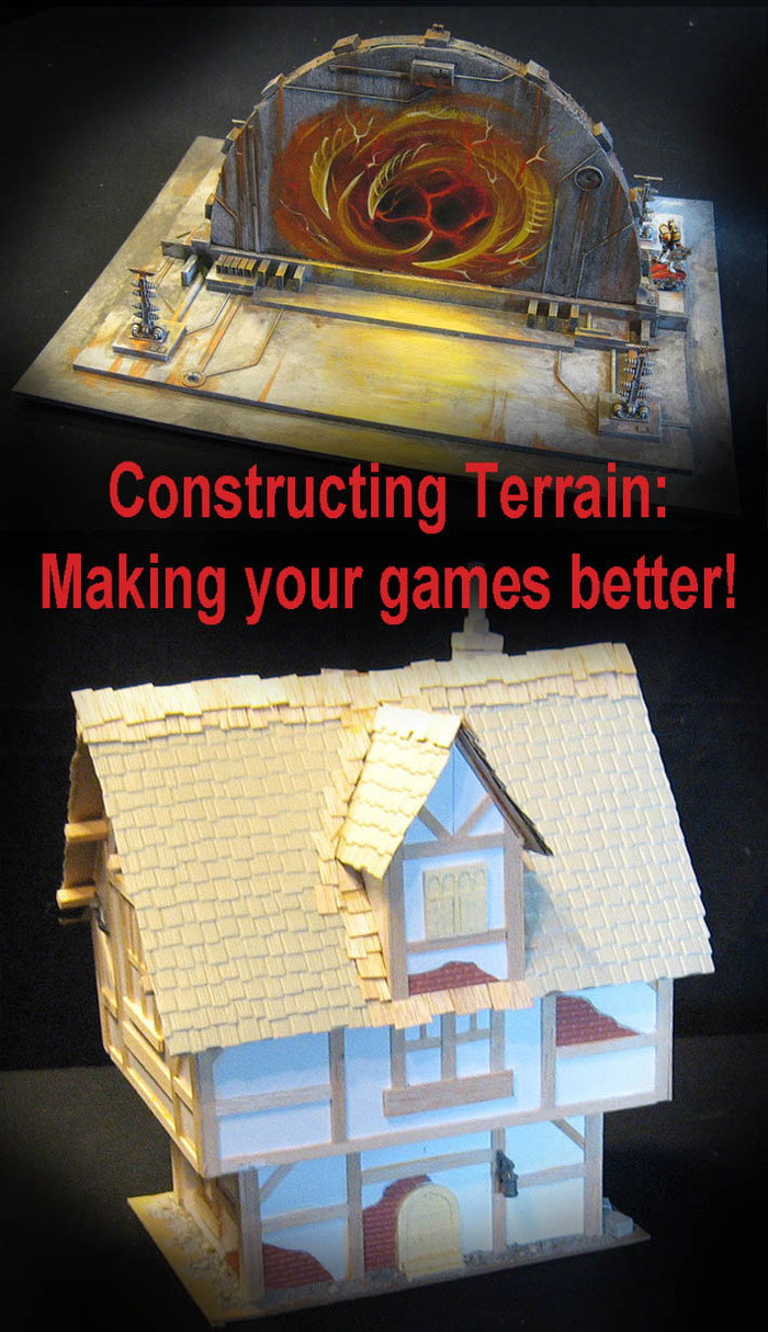Spice up your games with these great pieces of terrain!