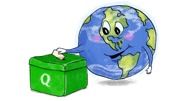 Qwanz is a global ballot box, taking the pulse of the world.