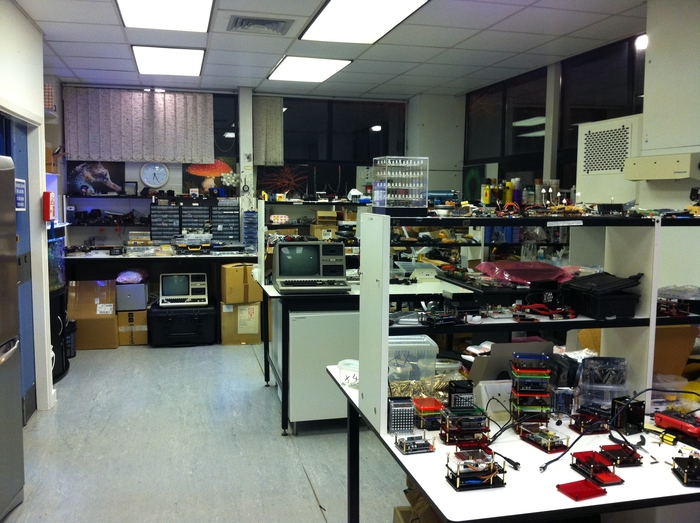 "A recent photo of ""The Laboratory""."
