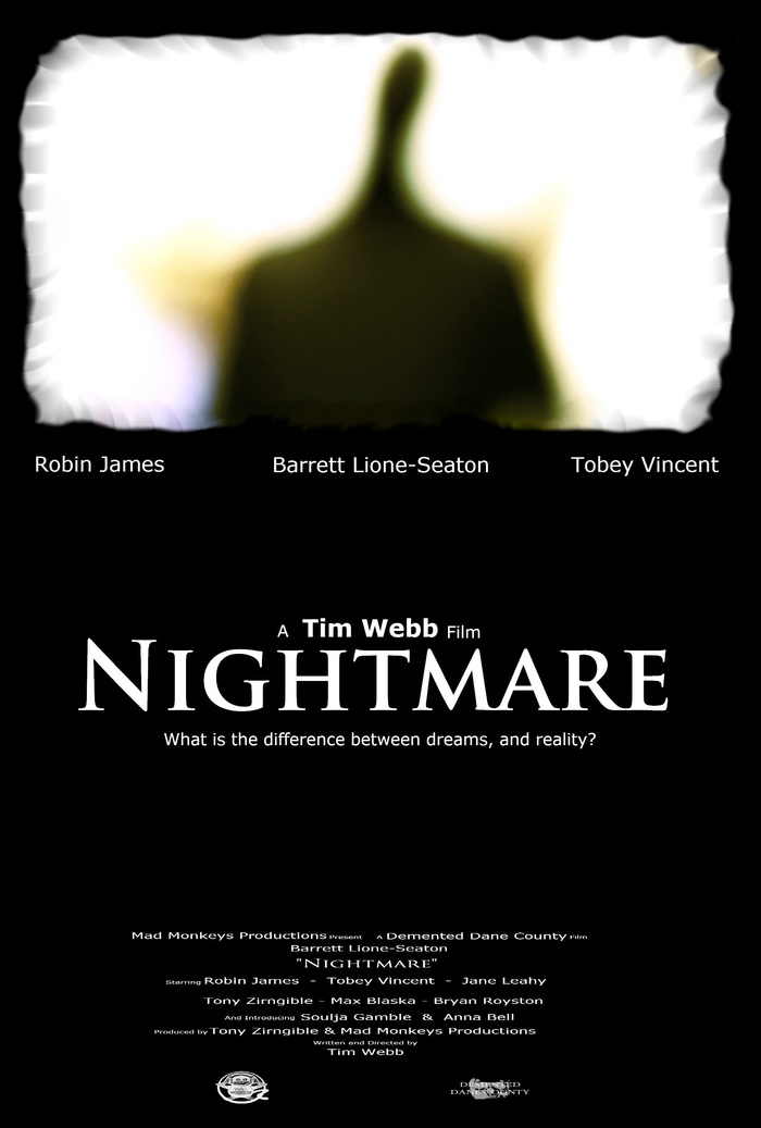 Official poster for Nightmare