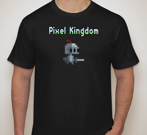 T-shirt example. You may choose ANY unit to be on your t-shirt!