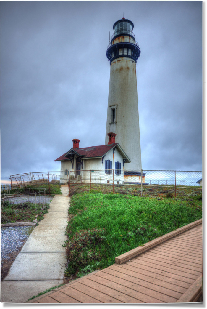 Pigeon Point Lighthouse, Highway 1. California