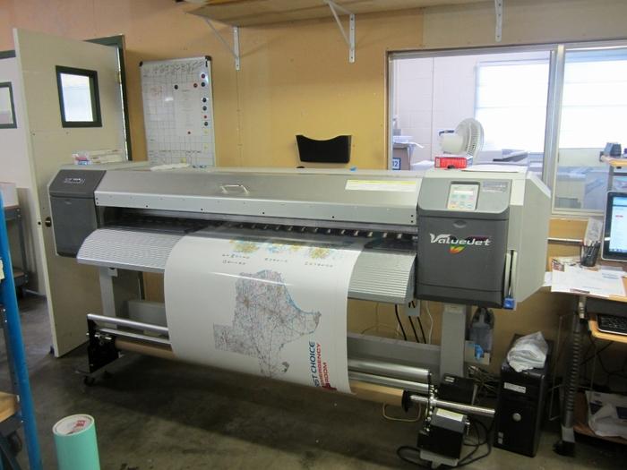 64 inch printer: $30,000!