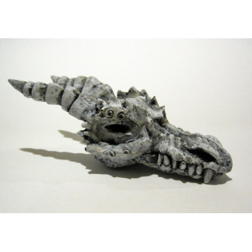 The Dragon Skull - Cast Resin Sculpture by Michael Bielaczyc