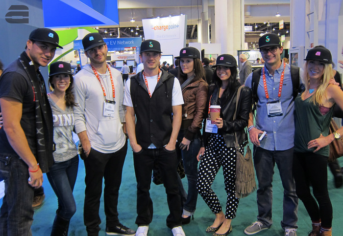 The LUMATIV team & friends at The Consumer Electronics Show 2013 geeking out on the latest tech!