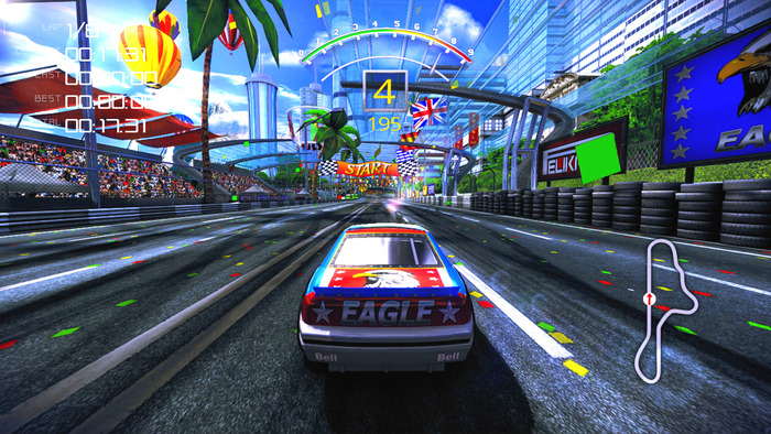 The 90 S Arcade Racer With Linux Support Gamingonlinux