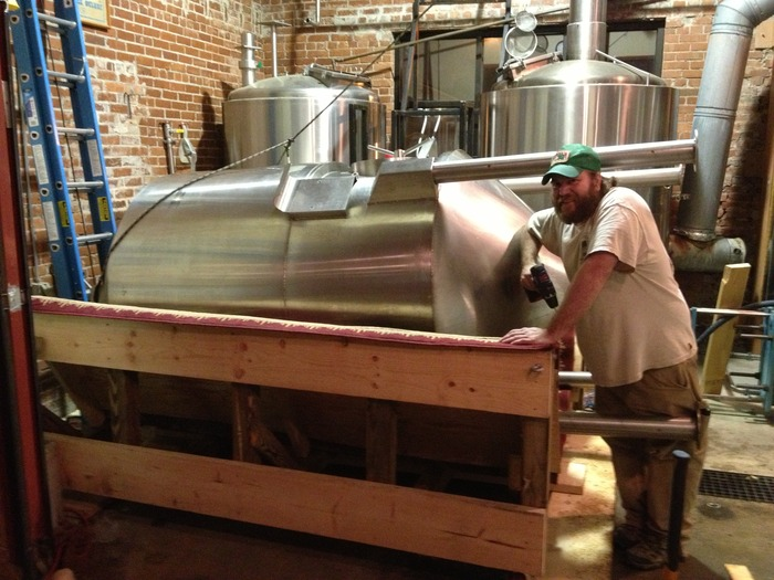 Mike Morris : Moving our brewing system