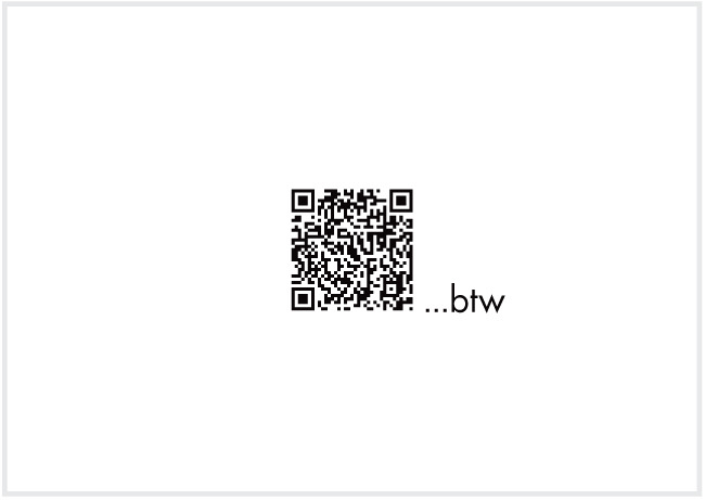 Card Five - we know that you know this but you need a QR reader for this one. Psst...guess the secret message, or scroll down to the bottom for the link....*