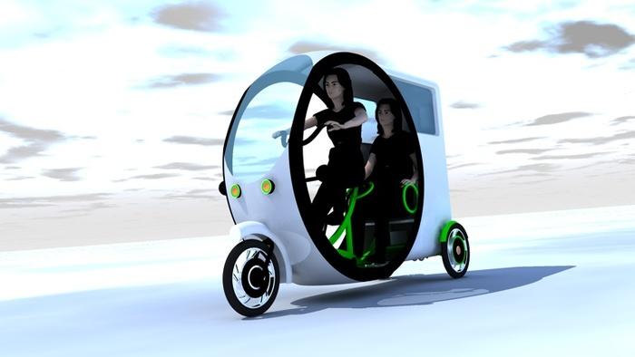 City Trike 2Go is a stylish and fun way to travel.