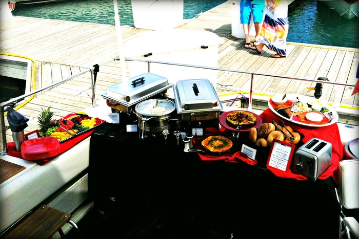 Brunch on a boat, anyone?